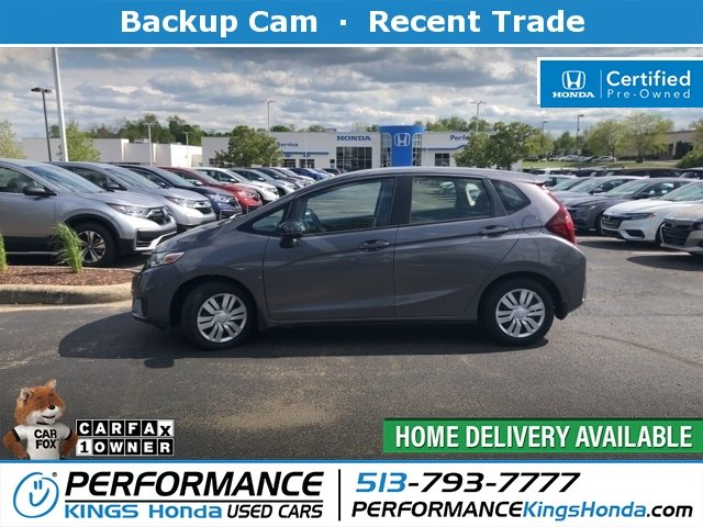 Certified Pre-Owned 2017 Honda Fit LX