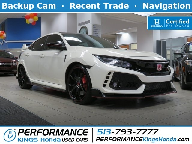 Certified Pre-Owned 2017 Honda Civic Type R Touring